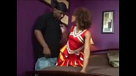 Misty Stone is one sexy freaky cheerleader