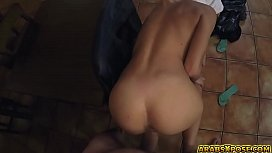 Stunning Arab loves huge cock in her pussy