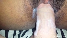 Ebony Babe Hard Orgasm
