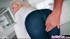Big Huge Oiled Ass Girl Luna Star Enjoy Hard Anal Sex video