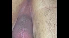 Putting my dildo up my ass