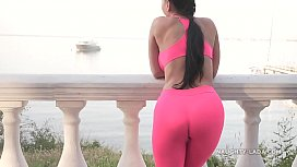 Cameltoe - I wore tight yoga pants in public xxx