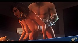 Pharah gets Creampied and Fucked by Mccree night Wanderer big dick