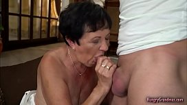 Fresh Cock for Aging Grandma Dry Snatch