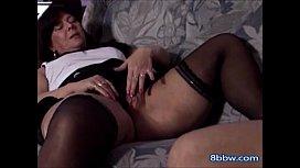Thick Granny Seduces Her y. Friend - 8bbw.com