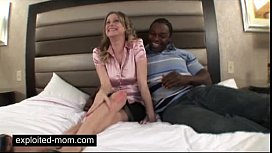 Old mature taking big black dick