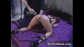 In this hardcore BDSM scene  youll find the lovel