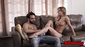 Mature babe Cherie Deville stuffs tight pussy with dick