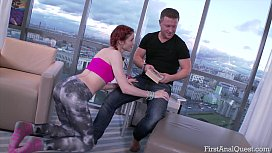 FIRSTANALQUEST.COM- FIRSTANALQUEST.COM -ANAL SEX FOR THE FIRST TIME WITH REDHEAD