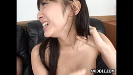 Cute Hina Hinako gives a hot blowjob!