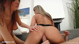 Group hardcore sex with sperm sharing end on Spe ap with Candy C Anabel