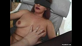 Granny Gets DP'_d With Dildos Before Fucking