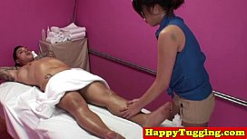 Real asian masseuse caught on am