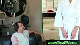 NuruMassage Son Fully Serviced by Step-Mom 23