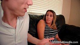 Step Mom Nikki Brooks Body Swaps with Step Son Aiden Valentine