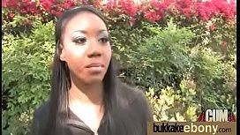 Ebony Babe Have A Hot Group Fuck 16