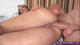 Horny chick Lisa Ann loves a cock for her ass