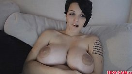 Gorgeous boobs girl webcam show - sexy-cam.fr