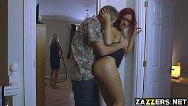 Aylin Diamond enjoys sucking Danny Ds big fat cock