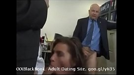Naomi Russell fucked by her 2 bosses (Can I call you daddy?)