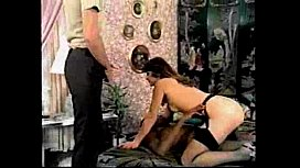 color climax bill the bull vs brunette'_s hairy snatch