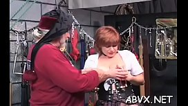 Fascinating lady is playing with her perky nipples era