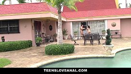 TeensLoveAnal Teen Ass Fucked By Peeping Tom