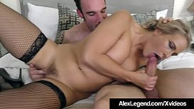 Blonde Angel Allwood Gets A Huge French Cock By Alex Legend!