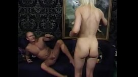 Cute babe Donna takes cumshot after getting nice fuck while another slut Dannielle licks her pussy