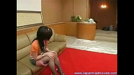 Japanese Girl Have A Surprise