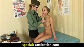 Shy teen girl goes through embarassing gyno exam xxx video
