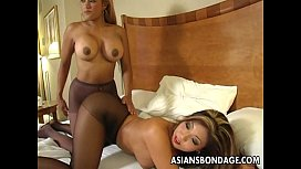Alluring Asian tarts moan during raunchy lesbian sex - MaxineX.com!