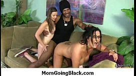 My mom is getting fucked by a black monster cock 26