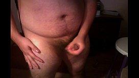 Hour-Long Masturbation on Webcam