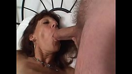 Nasty brunette mature woman Monique O'_Brien likes to remember the land of her ancestry, the Emerald isle, enjoying Irish