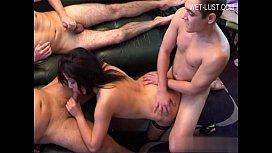 Horny girl sucking