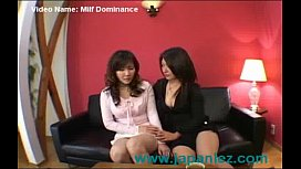 Japanese Asian Milf Dominates Friend In Romantic Encounter