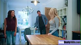 (Amber Jayne) Sexy Busty Wife Love Hardcore Action Sex  movie-05