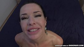 VERONICA AVLUV SQUIRTS on a BIG COCK in POV!