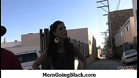 Mommy going black - Hard-core interracial super sex 18