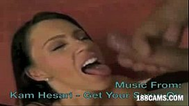 JENNA PRESLEY Swallowing Compilation