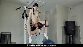 TeamSkeet - Lucky Stud Fucks Fit Teen In The Gym