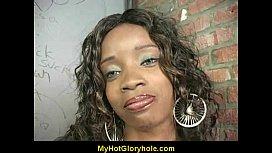 Hot Girl Blows A Stranger In A Bathroom Gloryhole 9
