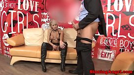 Cathy E fucking and sucking cock