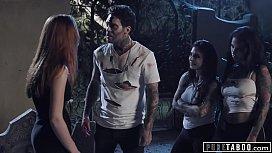 PURE TABOO Zombies Katrina Jade &amp_ Joanna Angel Show No MERCY