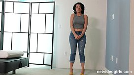 Hot Thick Girl Has Squirting Orgasms During Her Calendar Audition