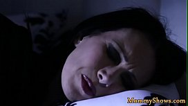 Bigtits stepmom tribbed by her stepdaughter