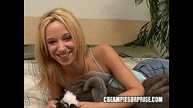 Creampie Surprise - Jada Stevens