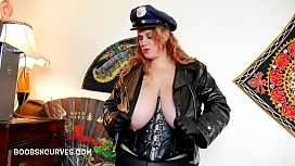A Bad Cop getting her ass fucked