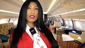 ASMR Sensual- Horny Private Flight Attendant